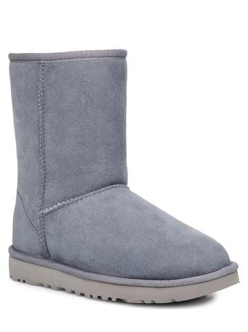 "UGG Leder-Boots ""Classic"" in Grau"