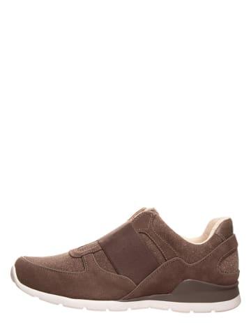 "UGG Leren sneakers ""Annetta Serein"" bruin"