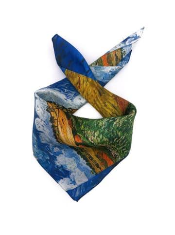 Made in Silk Zijden doek meerkleurig - (L)52 x (B)52 cm