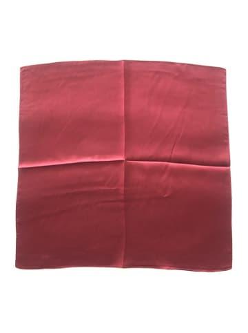 Made in Silk Jedwabna chusta w kolorze bordowym - (D)52 x (S)52 cm