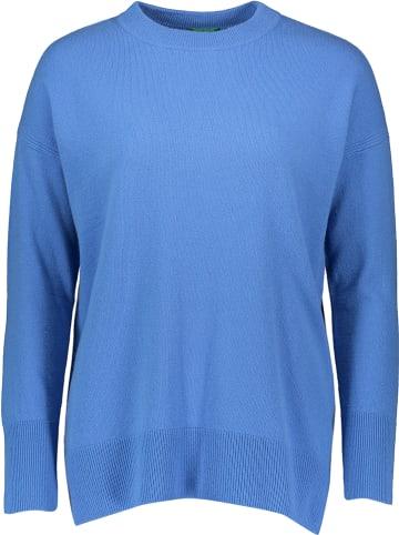 Benetton Sweter w kolorze niebieskim