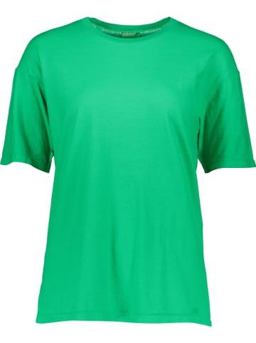 Benetton Koszulka w kolorze zielonym