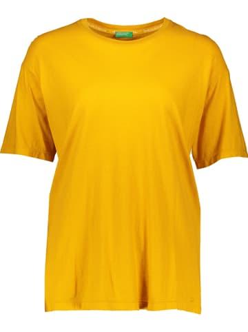 Benetton Koszulka w kolorze żółtym