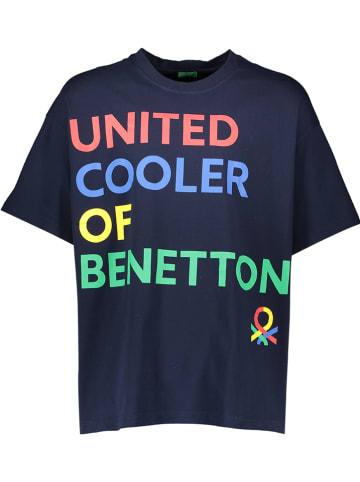 Benetton Koszulka w kolorze granatowym
