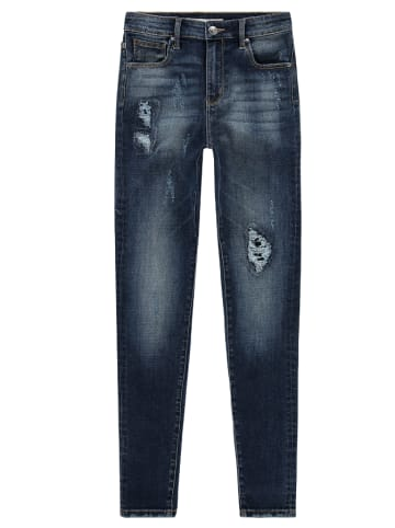 "RAIZZED® Spijkerbroek ""Blossom"" - super skinny fit - donkerblauw"