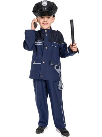 """Rubie`s 2-delig kostuum """"Agent"""" blauw"""