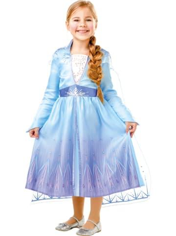 "Rubie`s 2-delig kostuum ""Elsa Frozen 2"" lichtbruin"