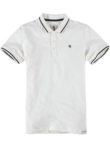 Garcia Koszulka polo w kolorze białym