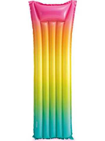 "Intex Luftmatratze ""Rainbow Ombre"" in Bunt - (L)170 x (B)53 cm"