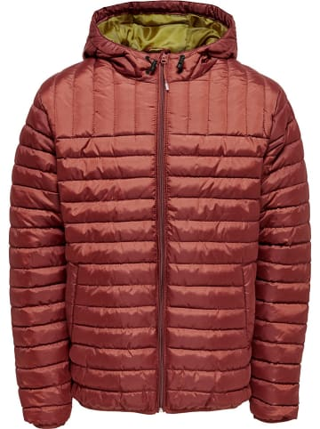 """ONLY & SONS Steppjacke """"Paul"""" in Rot"""