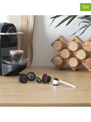 """COOK CONCEPT 3-częściowy zestaw """"Nespresso"""" w kolorze czarnym"""