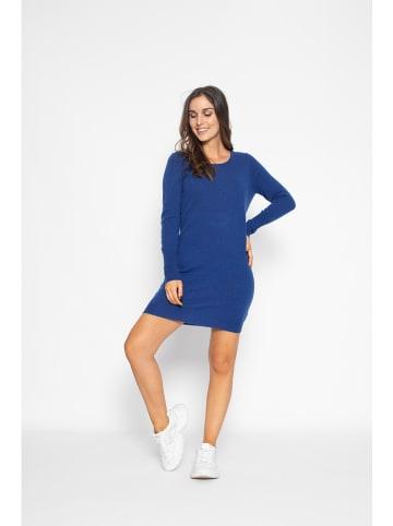 "Perfect Cashmere Kaschmir-Kleid ""Molly"" in Blau"