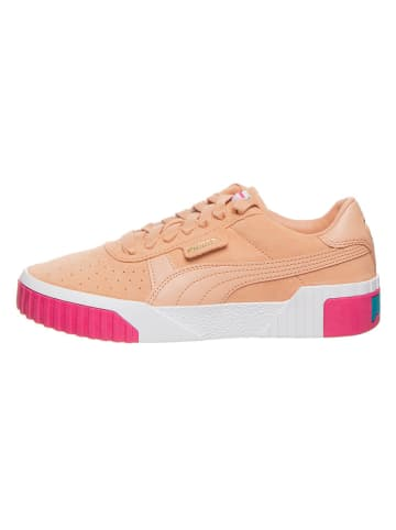 "Puma Shoes Leder-Sneakers ""Cali Suede"" in Orange"