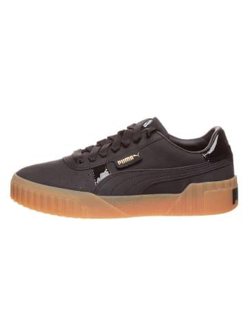 """Puma Shoes Leder-Sneakers """"Cali Nubuk"""" in Schwarz"""