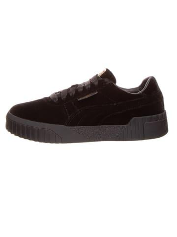 """Puma Leren sneakers """"Cali Velvet"""" zwart"""