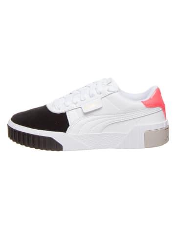 "Puma Leren sneakers ""Cali Remix"" wit"