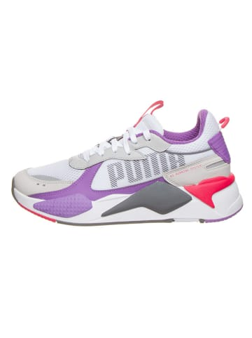 """Puma Sneakers """"RS-X Bold"""" wit/grijs/paars"""