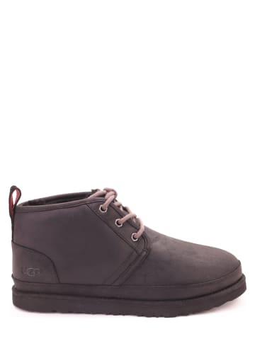 """UGG Leder-Boots """"Neumel Weather"""" in Schwarz"""
