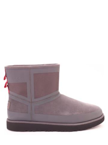 "UGG Leren boots ""Classic"" grijs"