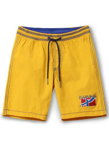 Napapijri Zwemshort geel