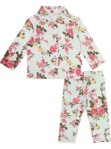 Claesens Pyjama wit/meerkleurig