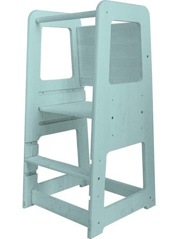 """Madre Selva Kids Krzesełko """"Montessori"""" w kolorze turkusowym - 40 x 90 x 40 cm"""