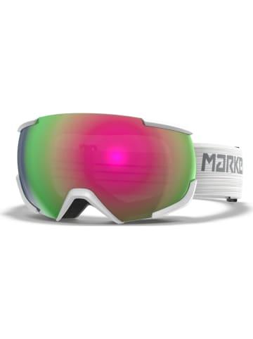 """Marker Unisex-Ski-/ Snowboardbrille """"16:10+"""" in Weiß/ Grün/ Rot"""