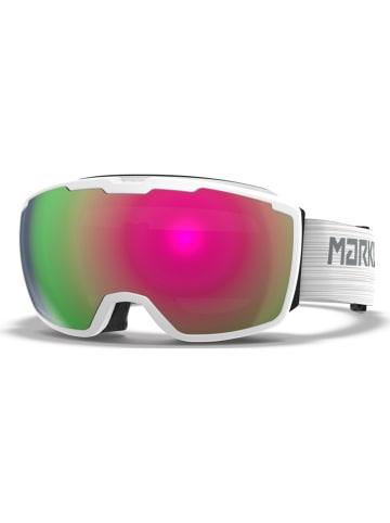 """Marker Unisex-Ski-/ Snowboardbrille """"Perspective+"""" in Weiß/ Grün/ Rot"""