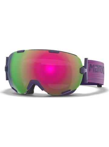 "Marker Uniseksski-/snowboardbril ""Projector+"" paars/groen/rood"