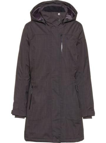 Schöffel Płaszcz funkcyjny w kolorze czarnym
