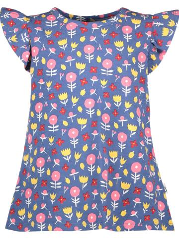 Lamino Shirt blauw/meerkleurig