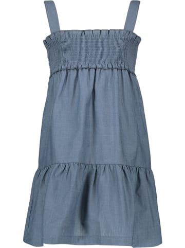 Lamino Kleid in Blau meliert