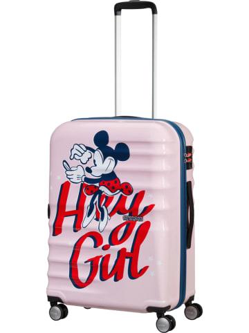 "American Tourister Hardcase-trolley ""Spin"" meerkleurig - (B)47 x (H)67 x (D)26 cm"