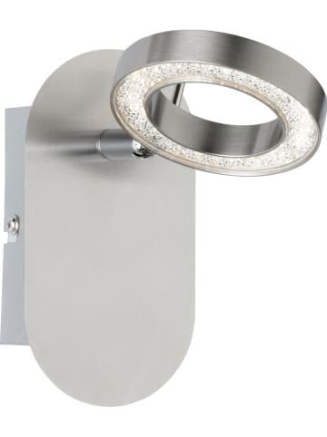 """WOFI Ścienna lampa LED """"Naomi"""" w kolorze srebrnym - 9 x 16 cm"""