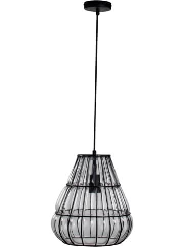 "ACTIOn by WOFI Hanglamp ""Banks"" zwart/transparant - Ø 29 cm"