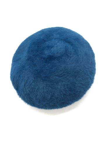 Made in Silk Beret w kolorze turkusowym