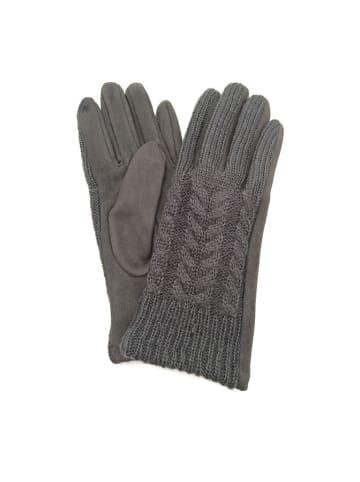 Made in Silk Handschoenen grijs