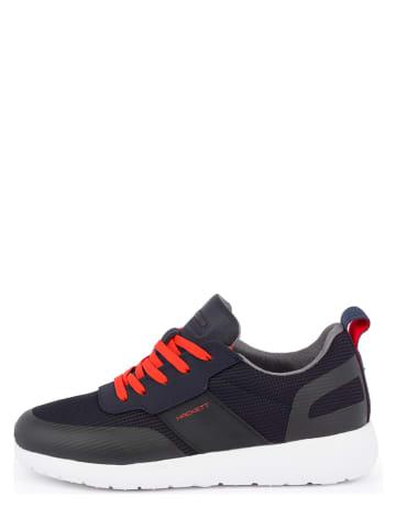 Hackett London Sneakersy w kolorze czarnym