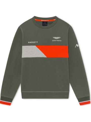 Hackett London Bluza w kolorze khaki