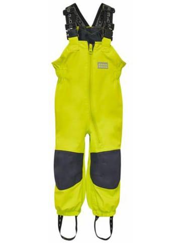 """Legowear Ogrodniczki funkcyjne """"Poul 201"""" w kolorze limonkowym"""