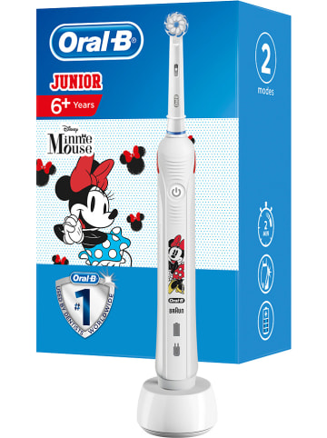 "Oral-B Elektrische tandenborstel ""Junior Minnie Mouse"" wit/rood"