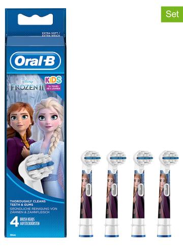 "Oral-B 4er-Set: Ersatz-Bürstenköpfe ""Kids Frozen - Völlig unverfroren"" in Bunt"