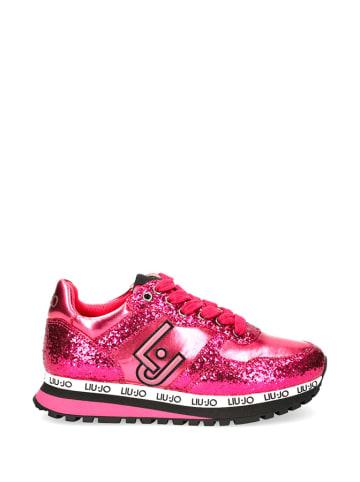 Liu Jo Sneakersy w kolorze różowym