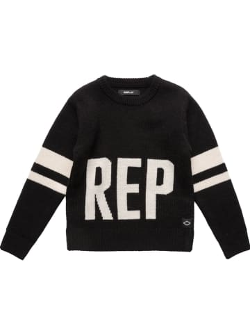 Replay & Sons Pullover in Schwarz