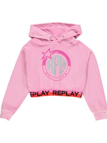 Replay & Sons Sweatshirt in Rosa