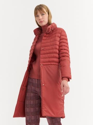 BGN Płaszcz przejściowy w kolorze czerwonym
