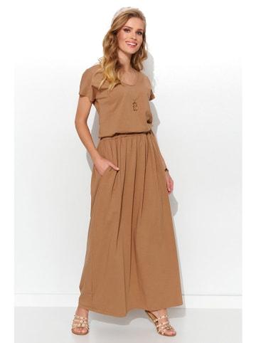 Numinou Sukienka w kolorze jasnobrązowym