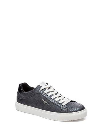 Pepe Jeans Sneakersy w kolorze srebrnym