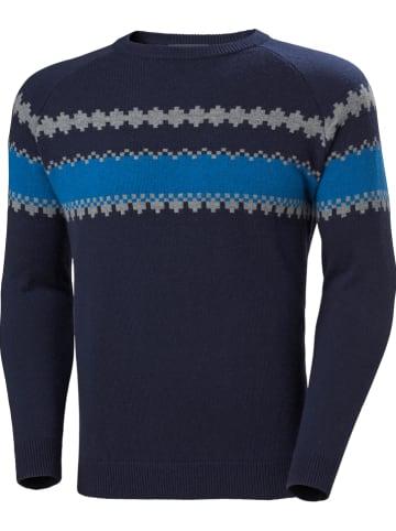 """Helly Hansen Trui """"Wool"""" antraciet/blauw"""