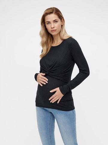 """Mama licious Koszulka """"Anli"""" w kolorze czarnym do karmienia"""